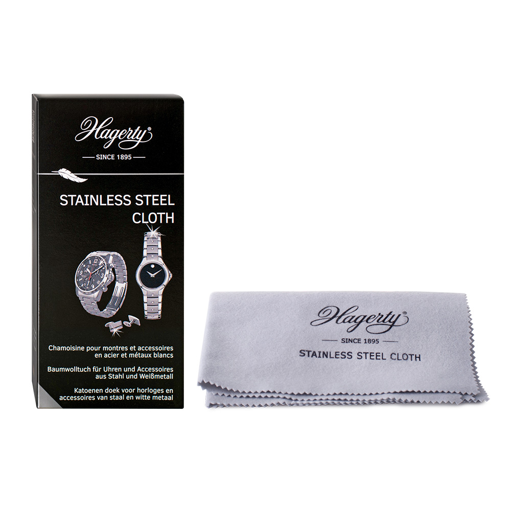 Pack of 12 Stainless Steel Cloths by Hagerty