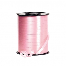 Plain pink curling gift ribbon