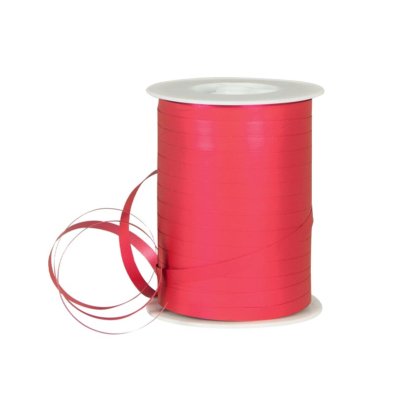 Powder finish fuchsia gift curling ribbon