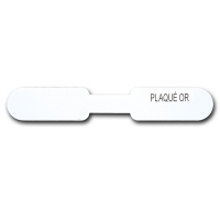 Self-adhesive ring labels - PLAQUE OR