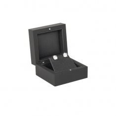 Soft-touch finish luxury jewellery presentation box
