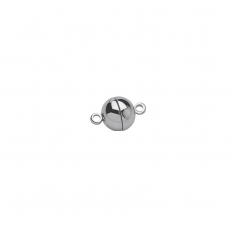 Steel round magnetic clasps