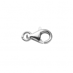 Sterling silver trigger catches with free ring